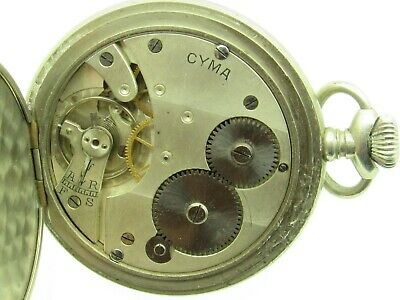 Cyma Pocket Watch Ref 750 • 40.51£