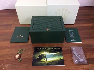 $ CDN503.67 • Buy Rolex Submariner Watch Box Set + Booklets + Anchor + Tag + Etc + FREE SHIPPING