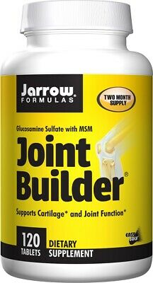 JOINT SUPPLEMENT 120 Tablets   Glucosamine Sulphate, MSM, Manganese, Vitamin D3 • 26.95£