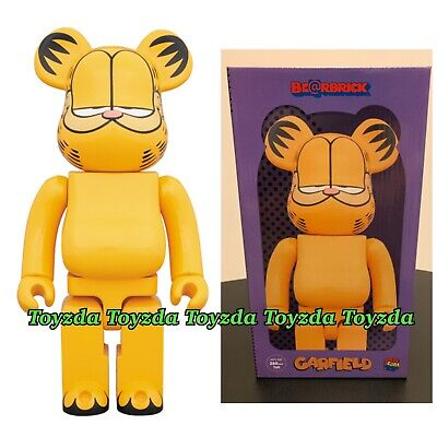 $280.88 • Buy Medicom 2018 Garfield Cat 400% Am I Cool Or What? Paws Bearbrick Be@rbrick