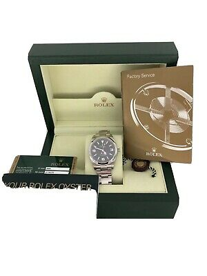 $ CDN11108.22 • Buy Preowned Rolex Oyster Perpetual Explorer Ref 214270 39mm SS Complete Set #888