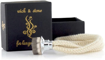 £8.76 • Buy Large Replacement Wick Boxed For Use In Ashleigh & Burwood Fragrance Lamp