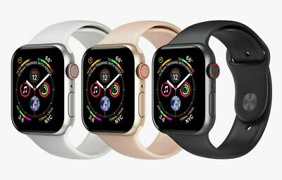 $ CDN462.41 • Buy Apple Watch Series 4 40mm LTE Smart Watch Aluminum Case With Sport Band