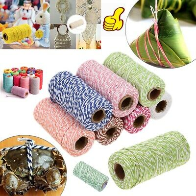 £5.49 • Buy 1 Roll Bakers Twine Wedding Party Cord String Ribbon Cotton DIY Craft Thread UK