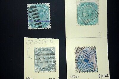 East India Victoria Stamps - Ref 166 • 5£