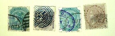 East India Victoria Stamps - Ref 171 • 4.55£