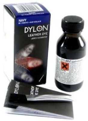 Dylon Leather Shoe And Boot Dye – Navy Sold By Pearls Drycleaners Ltd • 7.71£