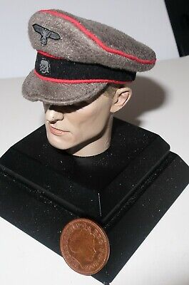 Dragon 1/6th Scale WW2/WWII German Panzer Officers Hat  SP  • 10£