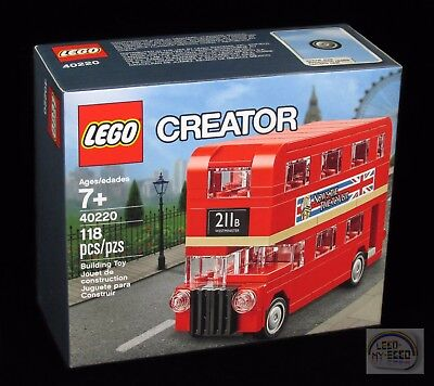 $ CDN28.58 • Buy LEGO Creator - Mini London Double Decker Bus - 40220 - New Sealed
