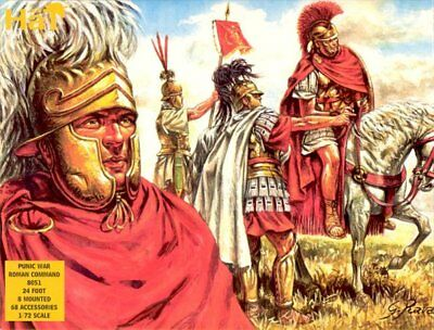 £6.88 • Buy Toy Soldiers 1/72 Punic Wars Roman Command- HAT (8051)