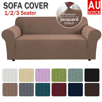 AU22.44 • Buy 2020 NEW Sofa Cover Couch Covers 1/2/3 Seater Slipcovers Protector Set Stretch