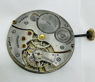 Vintage CYMA Swiss Pocket Watch Movement 10 Jewels • 18.41£