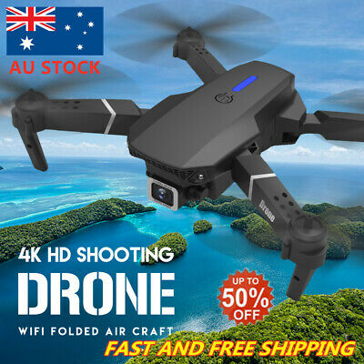 AU75.88 • Buy Drone XPro WIFI FPV 1080p/4K HD Wide-Angle Camera Foldable Selfie RC Quadcopter`