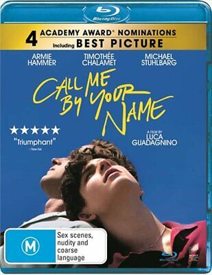 AU15.74 • Buy Call Me By Your Name Blu-ray