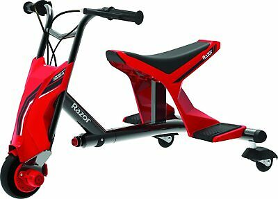 Razor Drift Rider With 3D Steering Kids Electric Scooter 3 Wheel Bike Trike- Red • 199.99£