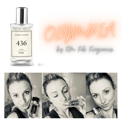 FM 436 Pure Collection Federico Mahora Perfume Fragrance Women 50ml IN STOCK! • 15.50£