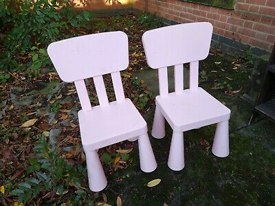 Mammut Kids Children's Chairs,Stools,Tables Plastic Furniture For Indoor/Outdoor • 15£