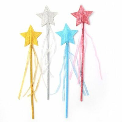 £3.20 • Buy Glitter Star Wand, Fancy Dress, Party, Christmas, Fairy, Angel, Costume Book Day