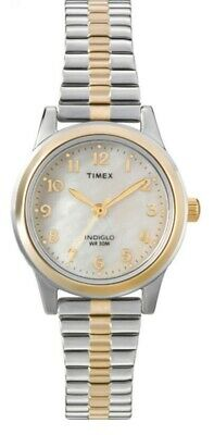 Timex Ladies Easy Reader Indiglo Expander Watch T2M828 NEW • 54.99£