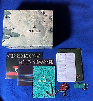 $ CDN2426.30 • Buy Rolex Box And Booklet Complete Set For Submariner 5513 From 1982