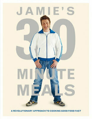 AU41.75 • Buy NEW Jamie's 30 Minute Meals By Jamie Oliver Hardcover Free Shipping