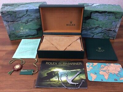 $ CDN543.49 • Buy Rolex Submariner 16613 Watch Box Set 1997 Anchor Booklet Tags Calendar FREE POST