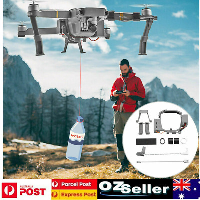 AU46.68 • Buy Double Release Air-dropping System Ring Remote Throw Thrower For DJI Mavic Pro