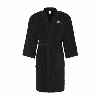 £24.95 • Buy NATAL SHARKS Rugby Cotton Bath Robe / Dressing Gown [black]