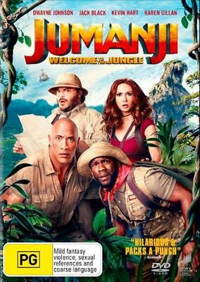 AU15.75 • Buy NEW Jumanji : Welcome To The Jungle DVD Free Shipping