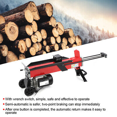 Electric 7 Ton Hydraulic Log Splitter Fast Wood Timber Cutter 2200W/15A 2950rpm • 324.99£