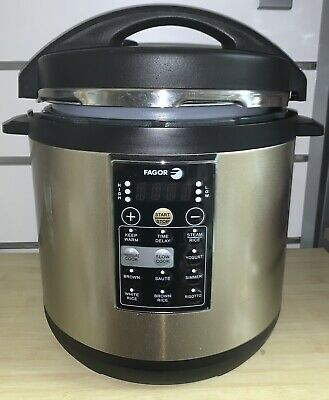 £7.08 • Buy FAGOR VERSA 8-IN-1 Multi-Cooker,  Pressure, Slow And Rice Cooker (8 Qt.)