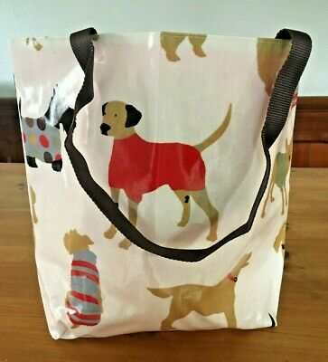 £20 • Buy Tote Shopper Shoulder Bag Hand Bag -  Made In Oilcloth With Waterproof Lining
