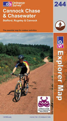 £6.48 • Buy OS Explorer Map: Cannock Chase & Chasewater: Stafford, Rugeley & Cannock : The