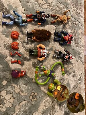 $225 • Buy Lot Of 8 He-Man MOTU Figures.  1 Polly Pocket Type Turtle And Parts Vintage
