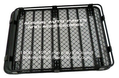AU599 • Buy Suzuki Jimny Alloy Enclosed Roof Rack 1800mm 2019 Onwards