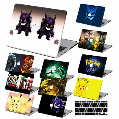 $15.70 • Buy Cartoon Rubberized Hard Cut Out Case KB Cover For Macbook Pro Air 11 12 13 15 16
