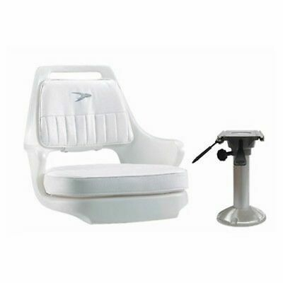 $ CDN397.43 • Buy Wise Seat Package #4 Pilot Seat Chair WD015 Adjustable Pedestal WP23-15-374 Boat