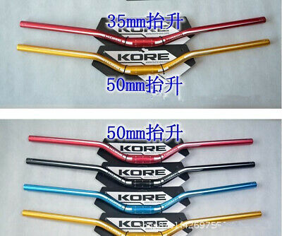 $57.94 • Buy 1pcs KORE MTB Road Bike Handlebar 0/20/35/50mm Bicycle Riser Bar For AM/FR/DH