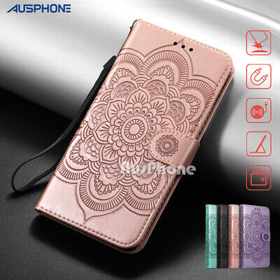 AU9.99 • Buy Luxury Flip Leather Wallet Case Cover Mandala Stand For Samsung S21 Ultra S20 FE