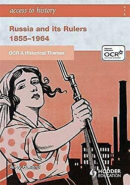 Russia And Its Rulers, 1855-1964 Paperback Andrew Holland • 3.94£