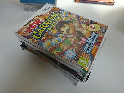 New Carnival Games (Nintendo Wii) Manual Included FREE P&P • 11£