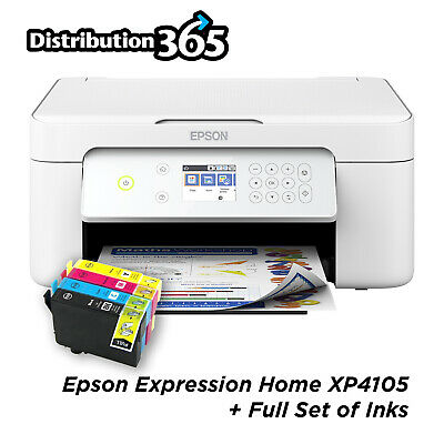 £59.99 • Buy Epson Expression XP-4105 WiFi All-in-One Printer With Ink REWORKED