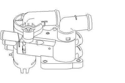 £41.36 • Buy VW Polo 2001-2008 9A4 9N Thermostat & Housing Coolant System Replacement