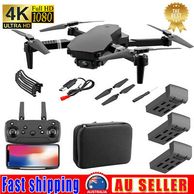 AU57.28 • Buy S70PRO NEW Drone With 4K HD Dual Camera Wifi FPV Foldable RC Quadcopter Drone AU