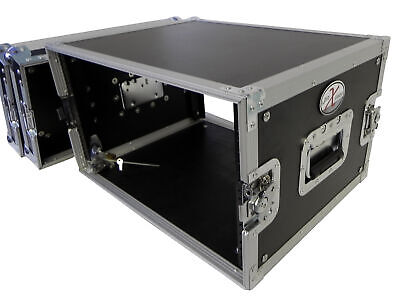 """£141.36 • Buy ProX X-8UE 8U Deluxe Effects Rack Case 14"""" Deep Rail To Rail 8 Space Front Load"""