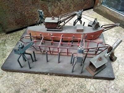 Vintage Architectural Model - Period Shed Made Toy/Model • 150£