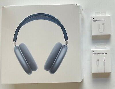 $ CDN1011.53 • Buy Apple AirPods Max Headphones Sky Blue H1 Bluetooth Wireless Over Ear 2020 Bundle