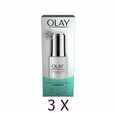 AU119.76 • Buy 3X Olay White Radiance Light Perfecting Essence Skin Lightening Whitening 30ml
