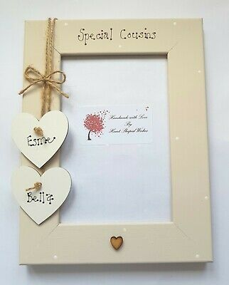 Cousin Personalised Photo Frame Sister Brother Christmas Birthday Gift • 13.50£