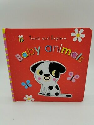 £5.99 • Buy Touch And Explore Baby Animals New Board Book Childrens Books